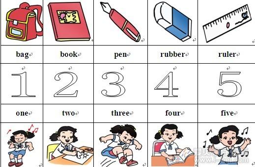 小学一年级英语单词表 小学一年级英语上册单词表