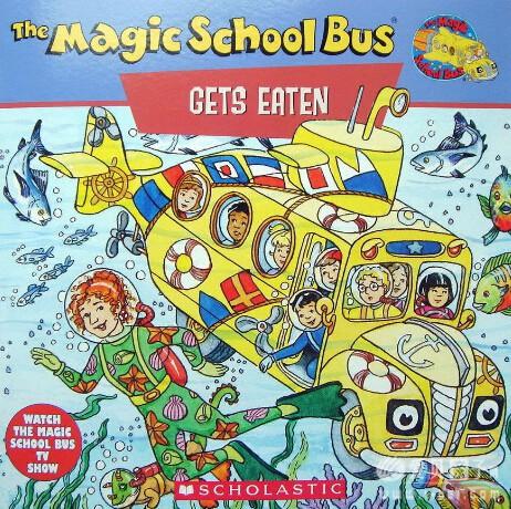 神奇校车magic school bus的science readers高清24本