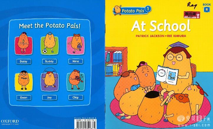 幼儿英语启蒙:牛津出品oxford 小土豆potato pals【pdf+mp3+部分视频