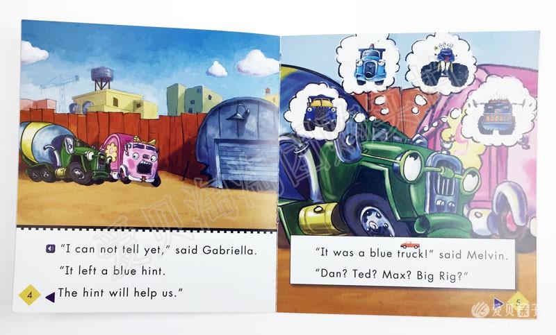 新版Truck town 汽车镇的故事小达人点读版团购