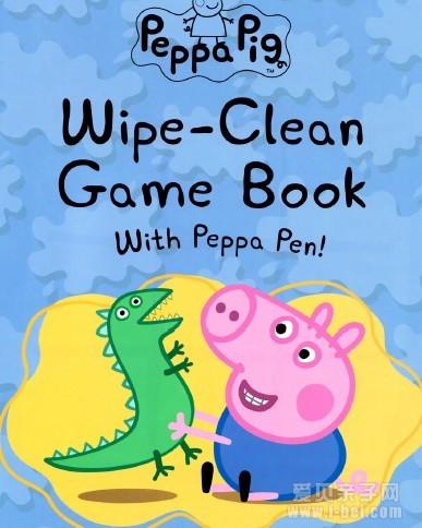 小学生 教材 小学生 : 原版英文绘本《粉红小猪妹:wipe-clean Game Book》pdf ...