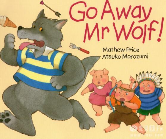 廖第2周第3本【5】Go Away Mr Wolf