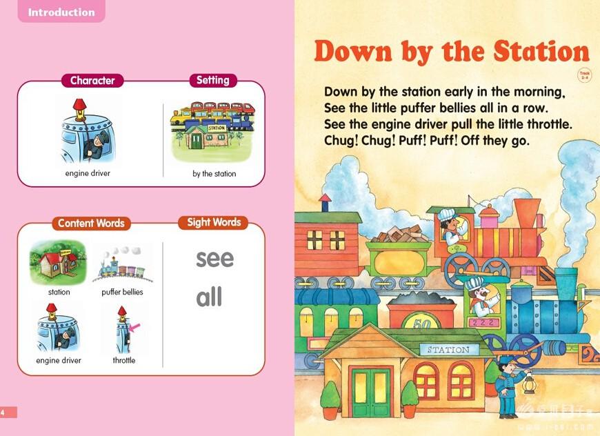 廖第3周第2本【6】down by the station 廖第3周第2本【6】down by the station