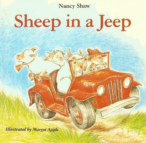 廖第14周第2本【24】Sheep in Jeep动画+MP3+高清pdf