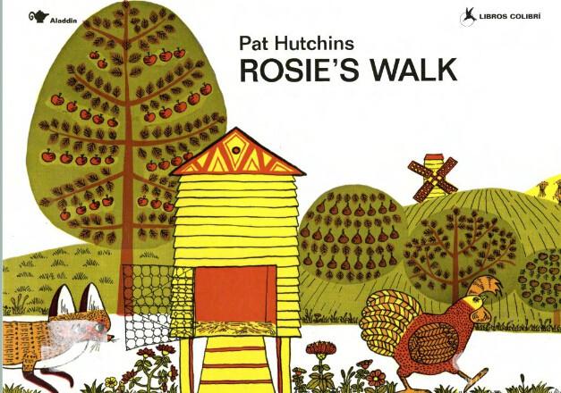 廖第16周第3本【31】Rosie's Walk 高清pdf+动画+MP3