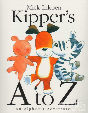廖第23周第1本【44】kipper's A to Z 高清pdf+mp3