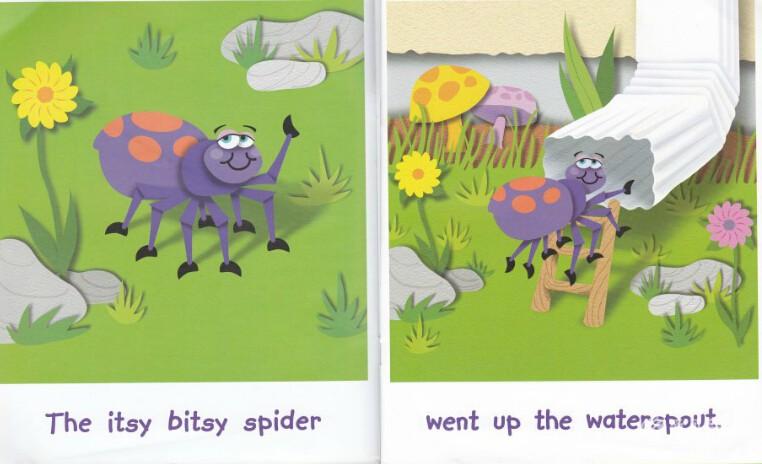 廖第34周第3本【64】The Itsy Bitsy Spider英文绘本动画+pdf+MP3