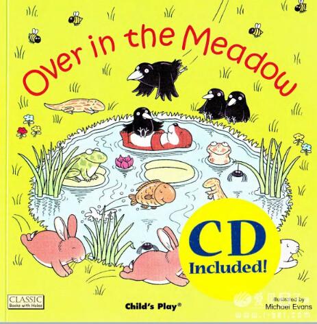廖第36周第3本【70】over in the meadow英文绘本动画+pdf+mp3