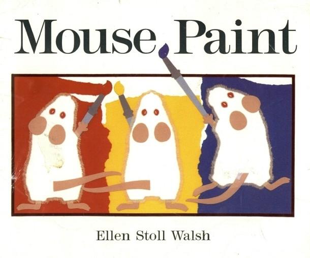 Mouse Paint 三只老鼠爱涂色