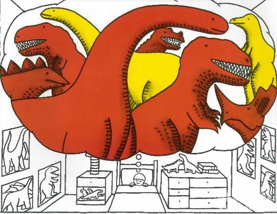 廖第47周第2本【92】If The Dinosaurs Came Back动画+pdf+mp3