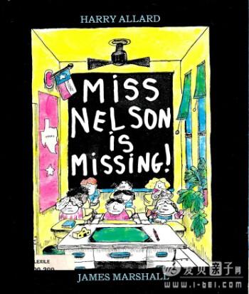 廖第48周第1本【95】Miss Nelson Is Missing绘本pdf+mp3