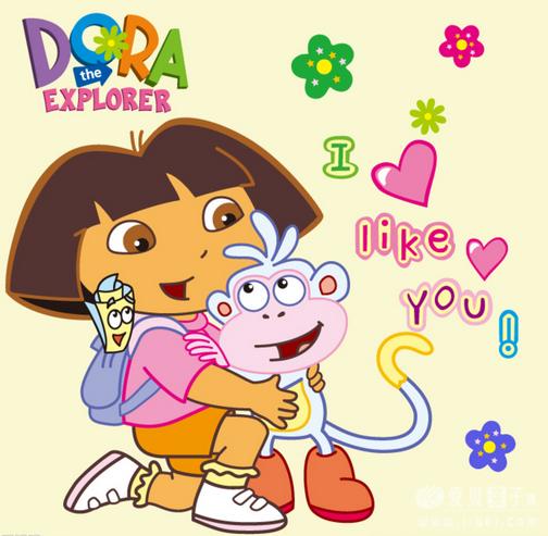 动画爱探险的朵拉_爱探险的朵拉第六季 Dora The Explorer 儿童英语动画下载 - 爱贝亲子网
