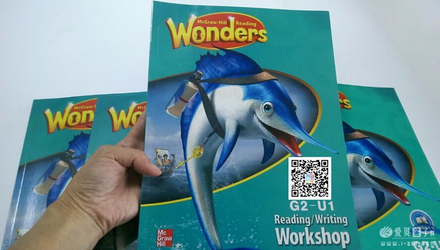 新版加州教材Reading Wonders团购说明