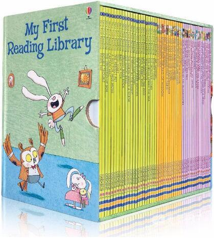 My First Reading Library 我的第一图书馆全50册音频+22册练习书 百度网盘下载