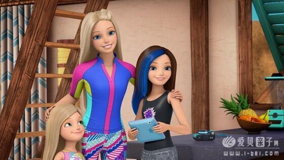 如果云�z`d�\_芭比娃娃电影芭比之海豚魔法BarbieDolphinMagic百度云分享-爱贝