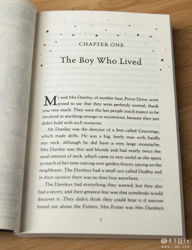 哈利波特英文版7册团购说明