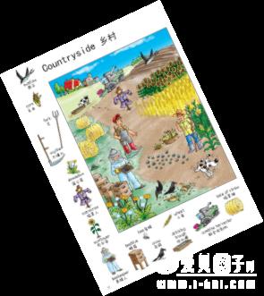 众筹预上新 | 直接点读版儿童情景记忆百科认知中英大词典1000词