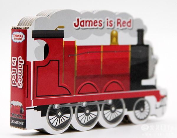 英文绘本Thomas and Friends Colourful Little Engines 6本造型纸板书点读版团购