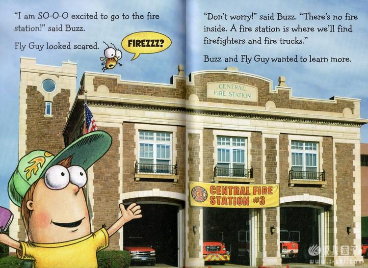 Fly Guy Presents苍蝇小子科普桥梁书系列10册