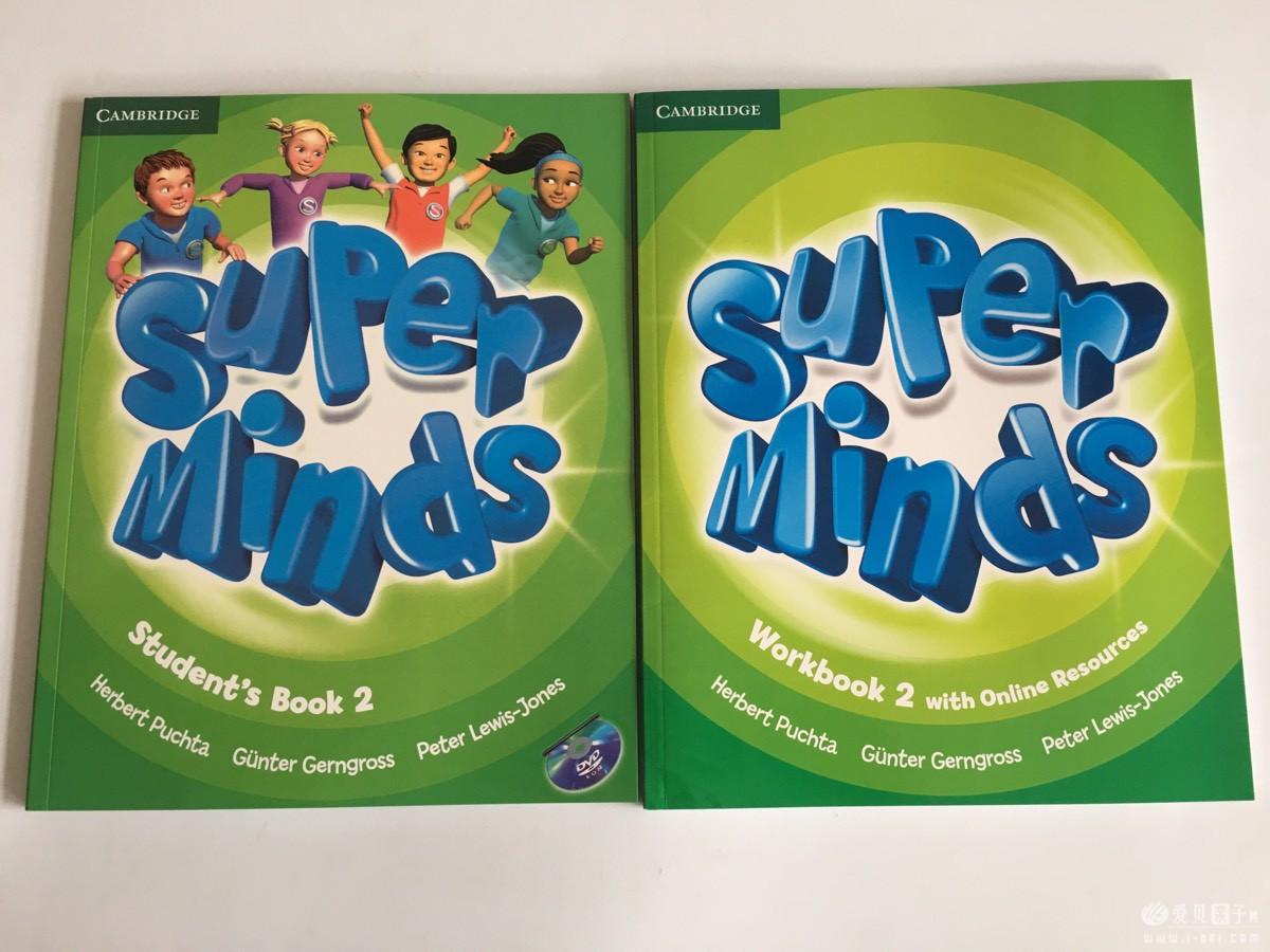 英文原版剑桥少儿英语 Super Minds starter