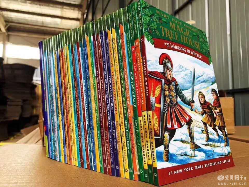 神奇树屋 1-55册点读版