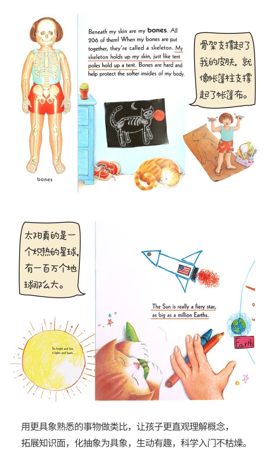 吴敏兰书单 Me and My系列科普读物6册